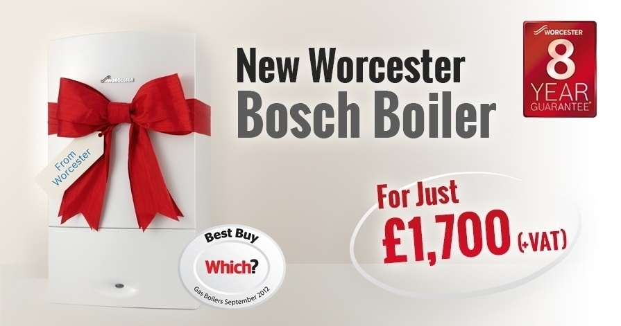Worcester Bosch offer from THP Plumbing and Heating